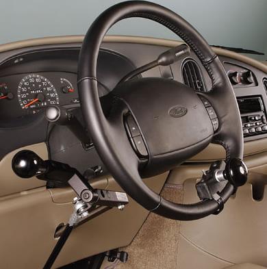 Mobility Products & Design 3501KBX Knob Grip Offset