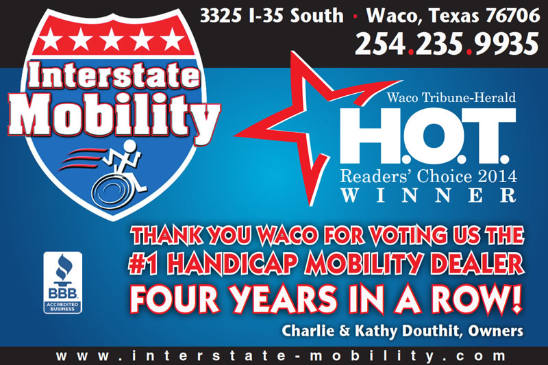 Interstate Mobility - Waco, Texas - Hot Readers Choice Award 2011-2013